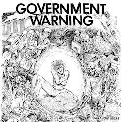 Government Warning Paranoid Mess LP