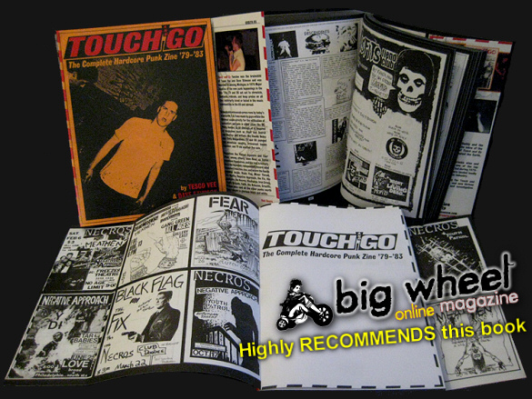 Touch and Go: The Complete Hardcore Punk Zine '79-'83 book image