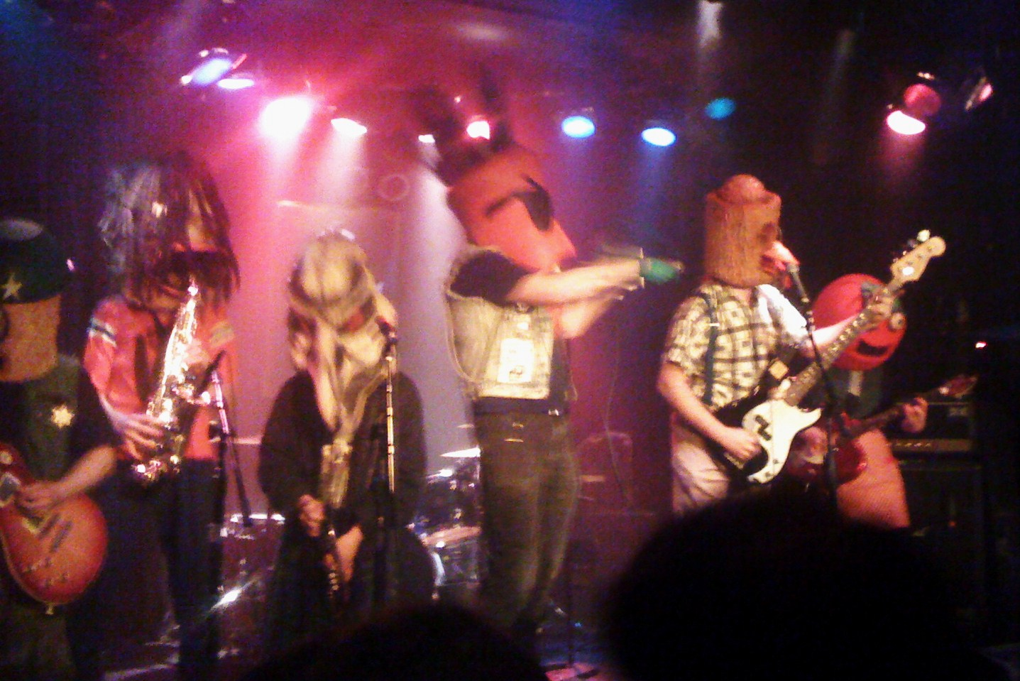 Radioactive Chicken Heads at the Viper Room